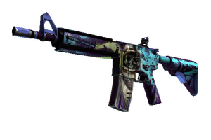 M4a4 Desolate Space Battle Scarred