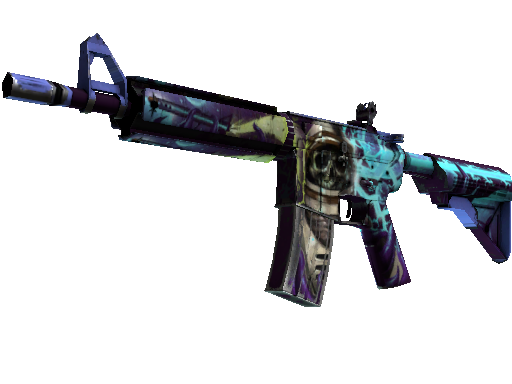 M4A4  |  Desolate Space  Battle-Scarred
