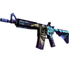 M4A4 | Desolate Space <br>(Well-Worn)