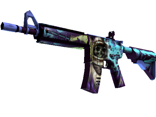 M4A4 | Desolate Space Well-Worn