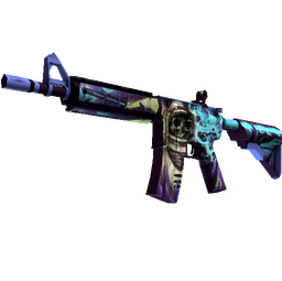 StatTrak™ M4A4 | Desolate Space (Well-Worn)