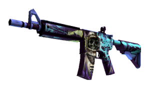 M4a4 Desolate Space Well Worn