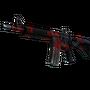 StatTrak™ M4A4 | Evil Daimyo (Battle-Scarred)