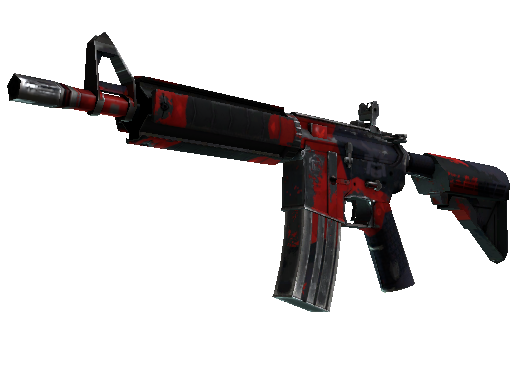 M4A4 | Evil Daimyo Battle-Scarred