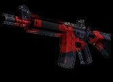 M4A4   Злобный дайме, Немного поношенное, 130.26$