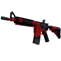 StatTrak™ M4A4 | Evil Daimyo (Factory New)