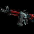 M4A4 | Bullet Rain <br>(Battle-Scarred)