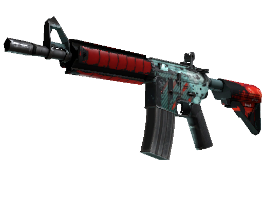 M4A4 | Bullet Rain Battle-Scarred