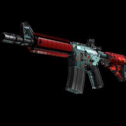StatTrak™ M4A4 | Bullet Rain (Well-Worn)