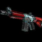 StatTrak™ M4A4 | Bullet Rain (Minimal Wear)