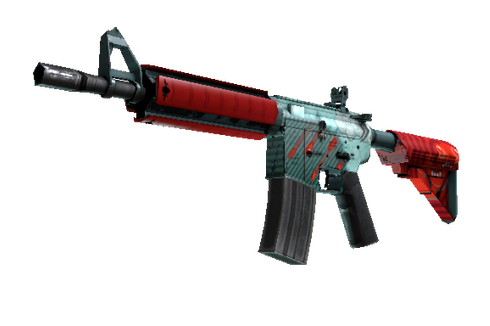 Buy StatTrak™ M4A4 | Bullet Rain (Factory New)