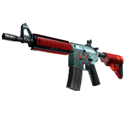 StatTrak™ M4A4 | Bullet Rain (Factory New)
