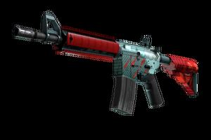 Stattrak Trade M4a4 Bullet Rain Factory New
