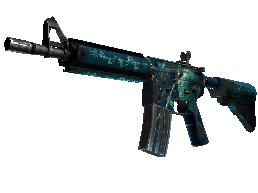 M4A4 | Poseidon Field-Tested