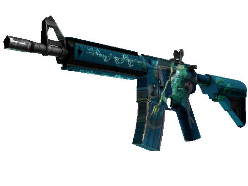 Classified M4A4 Poseidon