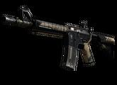 M4A4 | Пустынная атака, После полевых испытаний, 130.81$