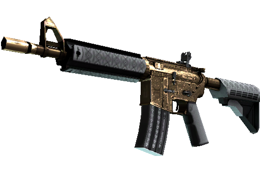 StatTrak™ M4A4 | Royal Paladin (Battle-Scarred)