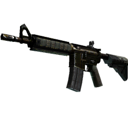 StatTrak™ M4A4 | The Battlestar (Battle-Scarred)