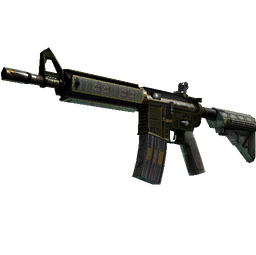 M4A4 | The Battlestar (Well-Worn)