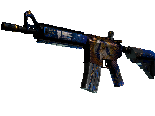 M4A4 | The Emperor Battle-Scarred