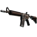 M4A4 | Desert Storm <br>(Well-Worn)