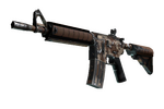 M4A4 | Desert Storm (Well-Worn)