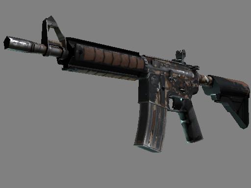 M4A4 | Песчаная буря (Закаленное в боях)
