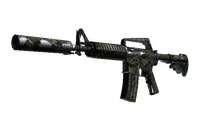 M4A1-S | Boreal Forest (Battle-Scarred)