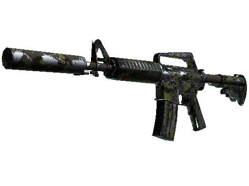M4A1-S | Boreal Forest Battle-Scarred