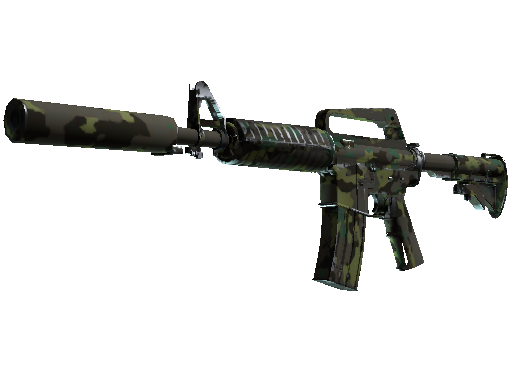 M4A1-S | Boreal Forest Field-Tested