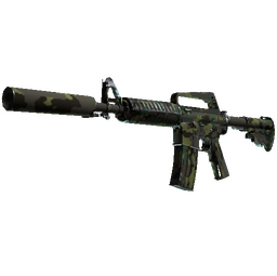 Souvenir M4A1-S | Boreal Forest (Well-Worn)