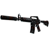 M4A1-S | Blood Tiger <br>(Field-Tested)