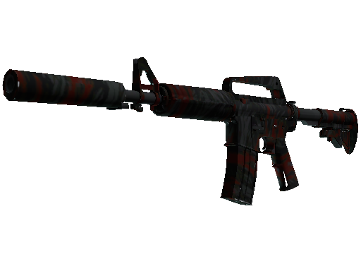 M4A1-S | Blood Tiger Minimal Wear