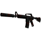 M4A1-S | Blood Tiger (Minimal Wear)
