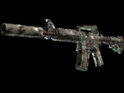 M4A1-S | Смешанный камуфляж (После полевых испытаний)