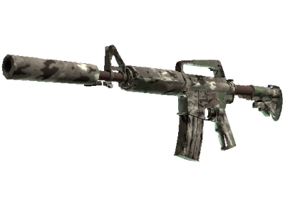 M4A1-S | Смешанный камуфляж (Прямо с завода)