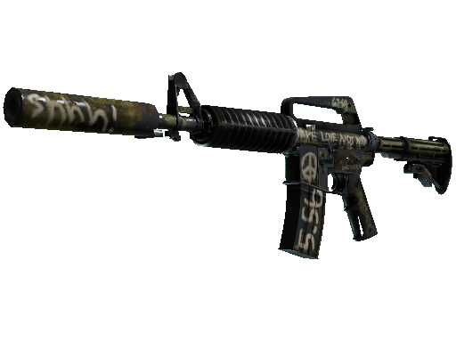 M4A1-S | Flashback Battle-Scarred