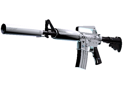 M4A1-S | Printstream (Battle-Scarred)