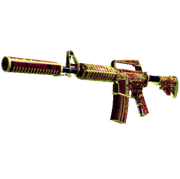 M4A1-S | Chantico's Fire (Well-Worn)