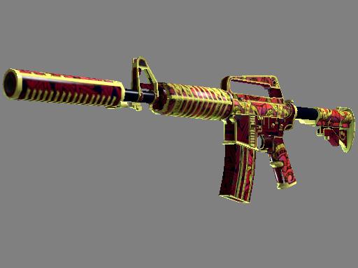StatTrak™ M4A1-S   Chantico nun Ateşi (Görevde Kullanılmış)