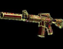 M4A1-S | Chantico s Fire (Well-Worn)