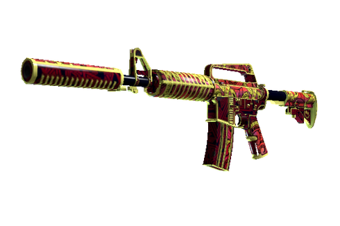 M4A1-S | Chantico's Fire (Well-Worn) Prices