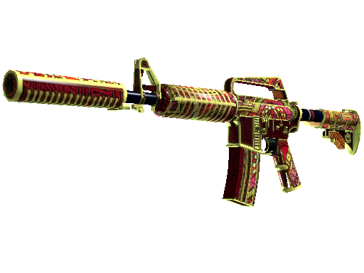 M4A1-S | Chantico's Fire (Battle-Scarred)