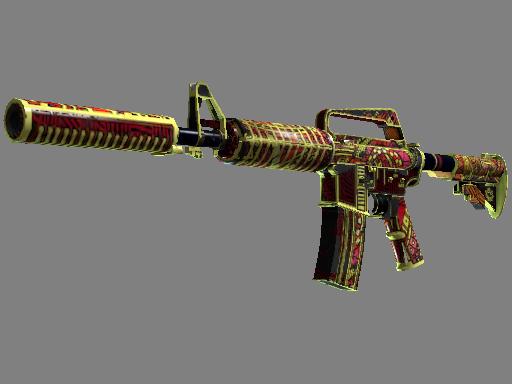 Скин M4A1-S | Огонь Чантико (Закаленное в боях)