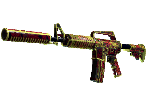Covert M4A1-S Chantico's Fire