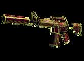 M4A1-S | Огонь Чантико, Закаленное в боях, 869.7$