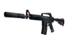 StatTrak™ M4A1-S | Briefing (Minimal Wear)