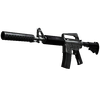 M4A1-S | Basilisk <br>(Well-Worn)