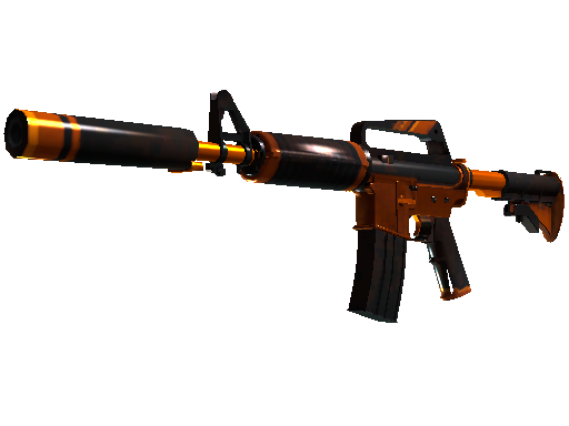 Gold M4A1-S Atomic Alloy