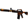 M4A1-S | Atomic Alloy <br>(Well-Worn)